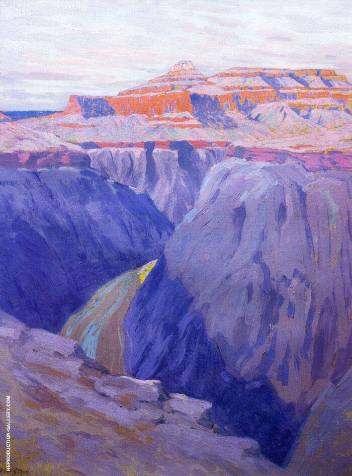 The Destroyer 1911 Painting By Arthur Wesley Dow - Reproduction Gallery