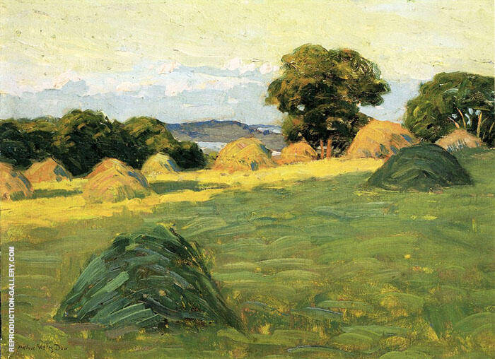 The Hill Field 1908 By Arthur Wesley Dow