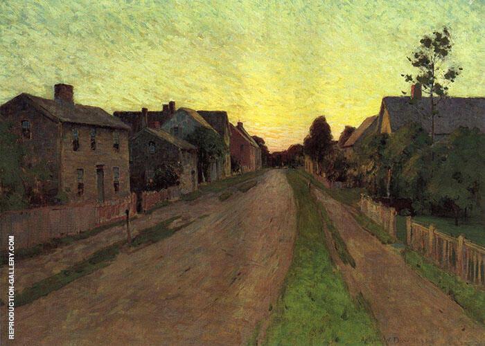 Twilight Along The Florida Coast 1893 Painting By Arthur Wesley Dow