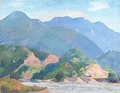 Western Landscape By Arthur Wesley Dow