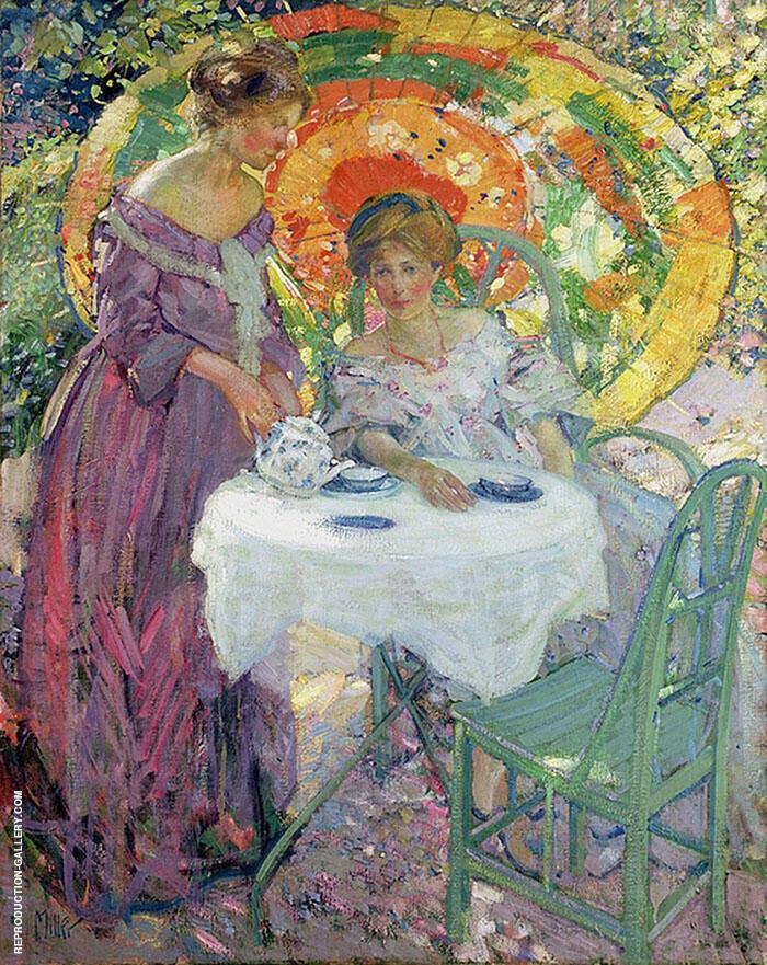 Afternoon Tea By Richard Emil Miller