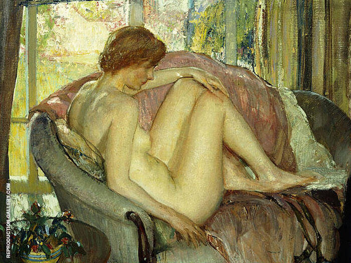 After The Morning Bath By Richard Emil Miller
