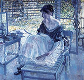 At The Vanity By Richard Emil Miller