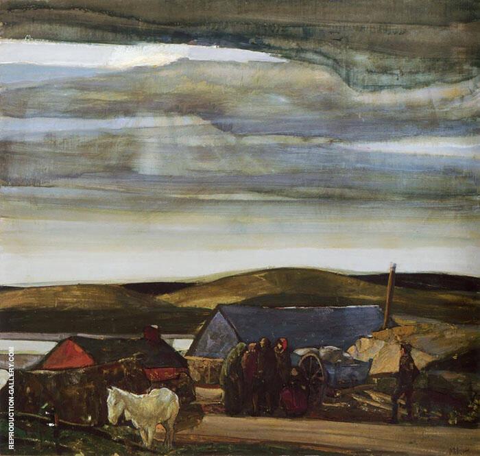 Cloudy Skies By Richard Emil Miller