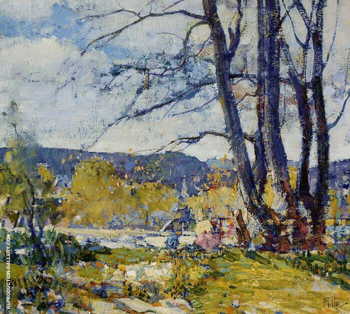 Landscape Provincetown By Richard Emil Miller