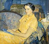 Portrait of Shelia McManus By Richard Emil Miller