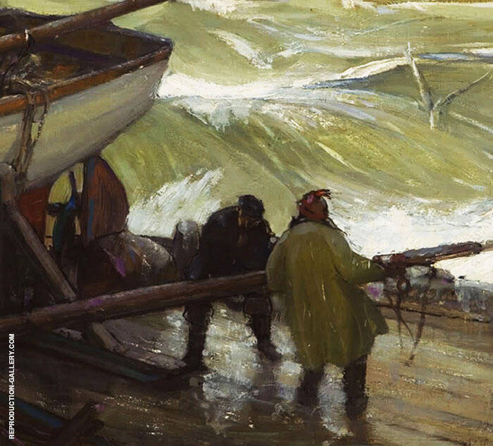 Preparing for The Storm By Richard Emil Miller