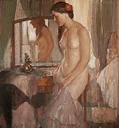 Standing Nude By Richard Emil Miller