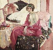 The Boudoir By Richard Emil Miller