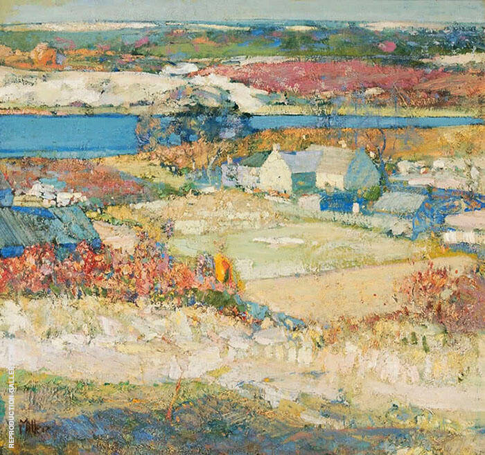 The Landscape Painting By Richard Emil Miller - Reproduction Gallery