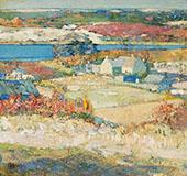 The Landscape By Richard Emil Miller