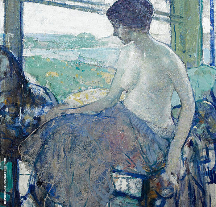 The Open Window Painting By Richard Emil Miller - Reproduction Gallery