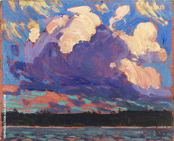 Evening Clouds 1915 By Tom Thomas