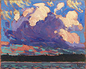 Evening Clouds 1915 By Tom Thomson