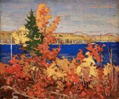 Autumn Foliage By Tom Thomson