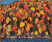 Autumn Foliage II By Tom Thomson