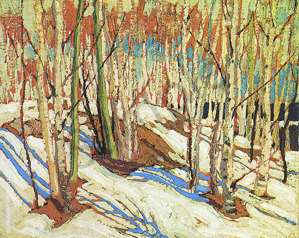 Early Spring Painting By Tom Thomson - Reproduction Gallery