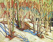 Early Spring By Tom Thomson