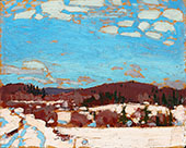 Early Spring 1917 By Tom Thomson