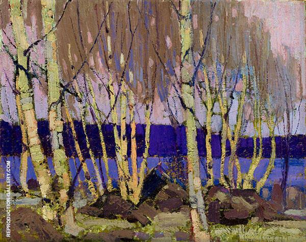 Evening Canoe Lake By Tom Thomas