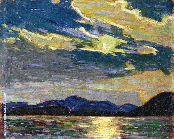 Hot Summer Moonlight 1915 By Tom Thomson