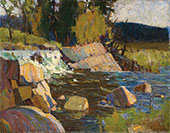 Little Falls By Tom Thomson