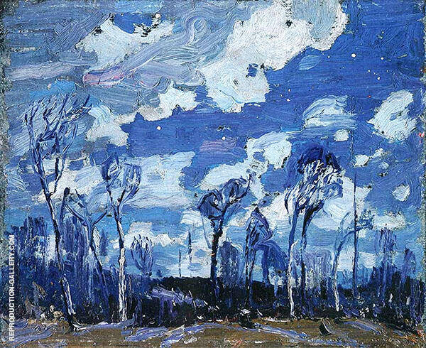 Nocturne The Birches By Tom Thomas