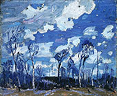 Nocturne The Birches By Tom Thomson