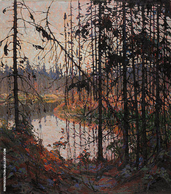 Northern River Painting By Tom Thomson - Reproduction Gallery