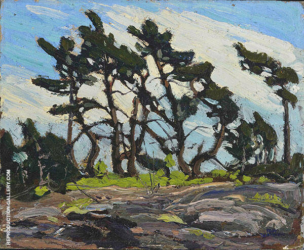 Pine Island 1914 By Tom Thomson