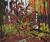 Red Sumac By Tom Thomson