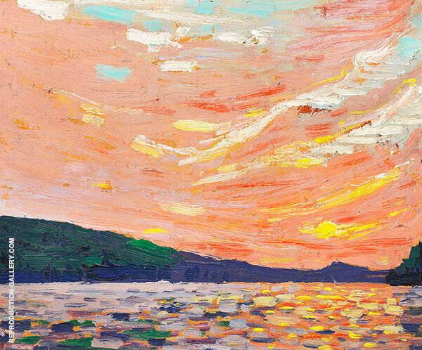 Smoke Lake 1915 By Tom Thomson