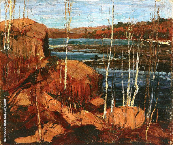 Spring 1914 By Tom Thomson