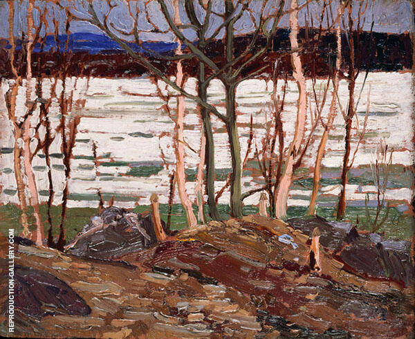 Spring Breakup By Tom Thomson