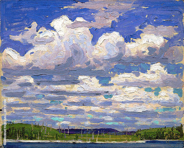 Summer Day 1915 Painting By Tom Thomson - Reproduction Gallery