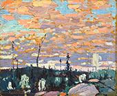 Sunrise By Tom Thomson