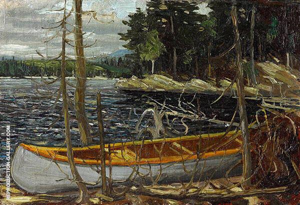 The Canoe By Tom Thomas