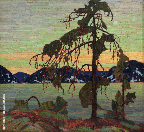 The Jack Pine Painting By Tom Thomson - Reproduction Gallery