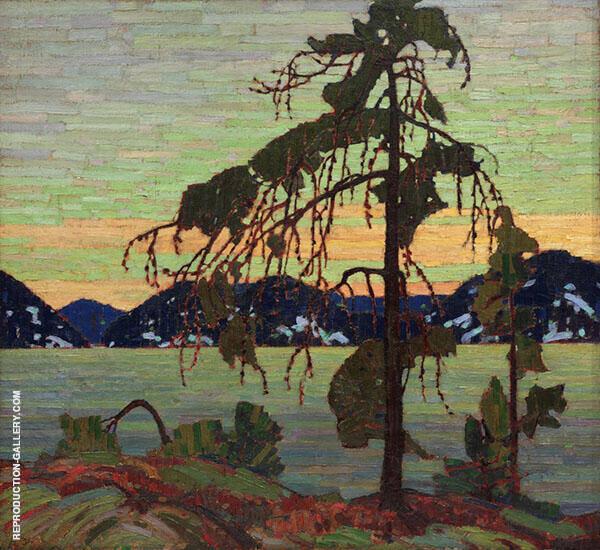 The Jack Pine By Tom Thomas