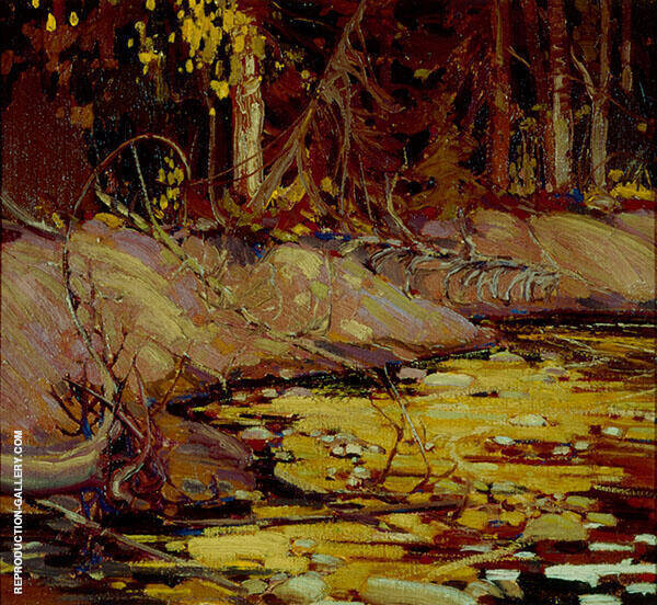 The Woodland By Tom Thomson