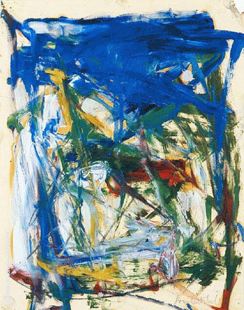 Untitled Abstract 23 By Joan Mitchell
