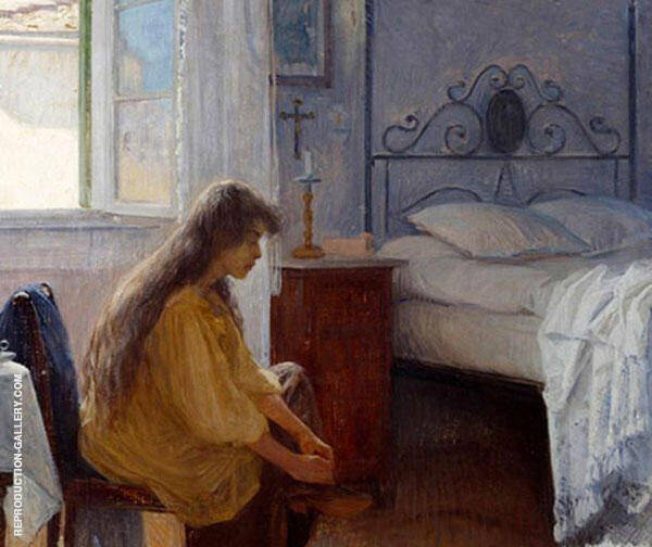 Interior 1900 Painting By Elin Kleopatra Danielson Gambogi