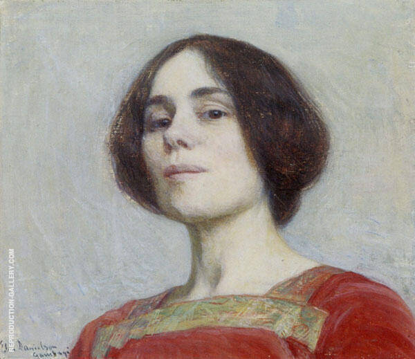 Self Portrait 2 By Elin Kleopatra Danielson GAMBOGI