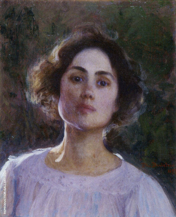 Self Portrait 3 By Elin Kleopatra Danielson Gambogi