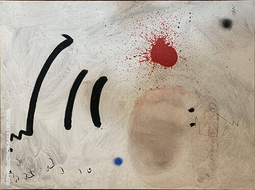 Untitled Abstract Painting By Joan Miro - Reproduction Gallery