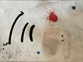 Untitled Abstract By Joan Miro