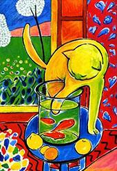 Le Chat aux Poissons Rouge 1914 By Henri Matisse