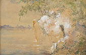 Bathing Nymph By Hobbe Smith