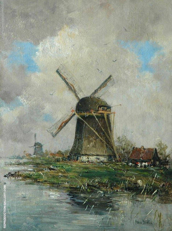 The Windmill By Hobbe Smith