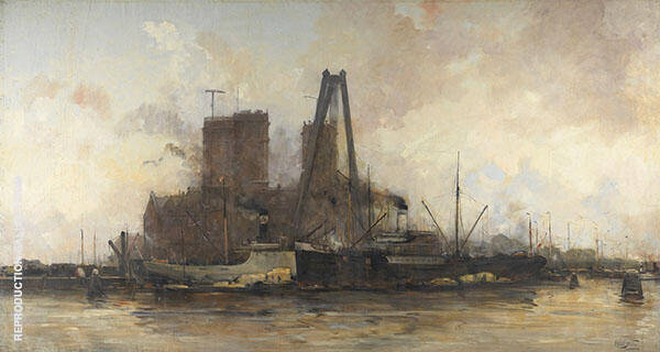 View of The Eastern Docklands By Hobbe Smith